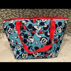 Mickey Mouse beach tote